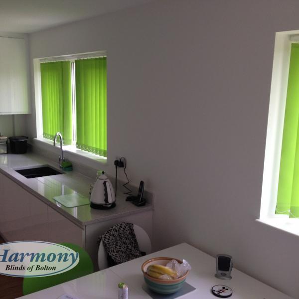 Lime Green Kitchen Blinds: Portfolio