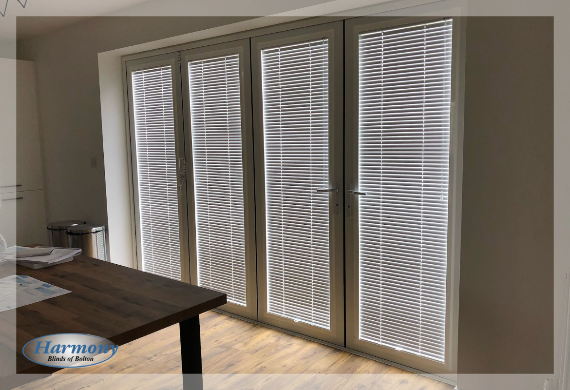 Bi-Fold Door Blinds - Perfect Fit Venetian