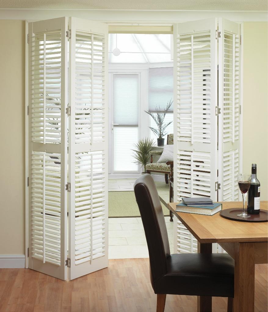Stylish Window Shutters For Window Treatment Ideas
