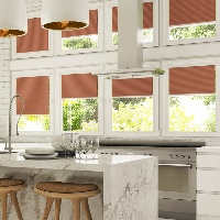 Get complete control of privacy with Pleated Blinds