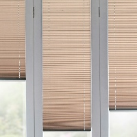 Pleated Blinds make for great Door Blinds