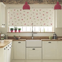 Only the best quality fabrics are used at Harmony Blinds