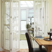 Fold your shutters out of the way when not in use