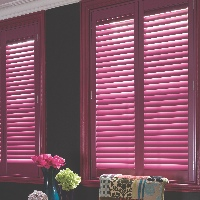 Be creative with our custom colour shutters service