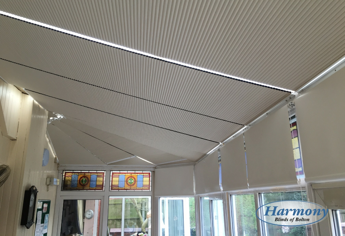 Blackout Cellular Roof Blinds Plus Blackout Roller Blinds