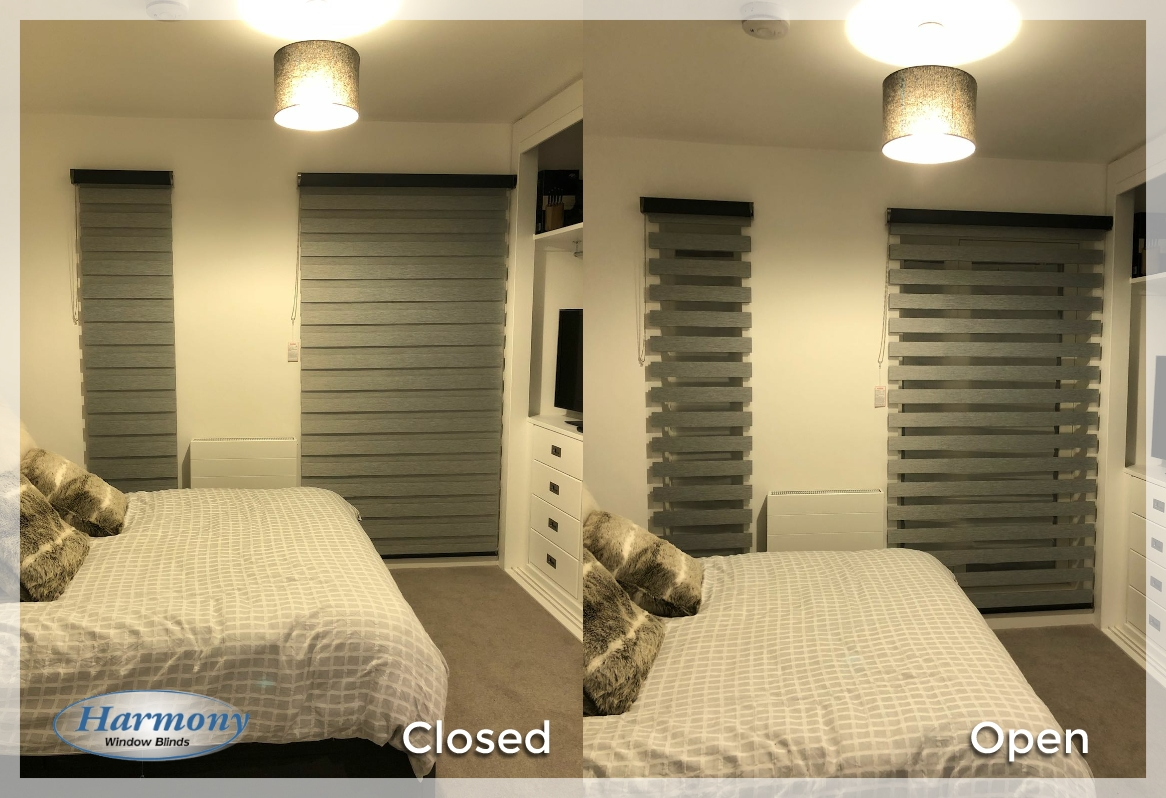 Day Amp Night Blinds In Bedroom In Manchester Harmony