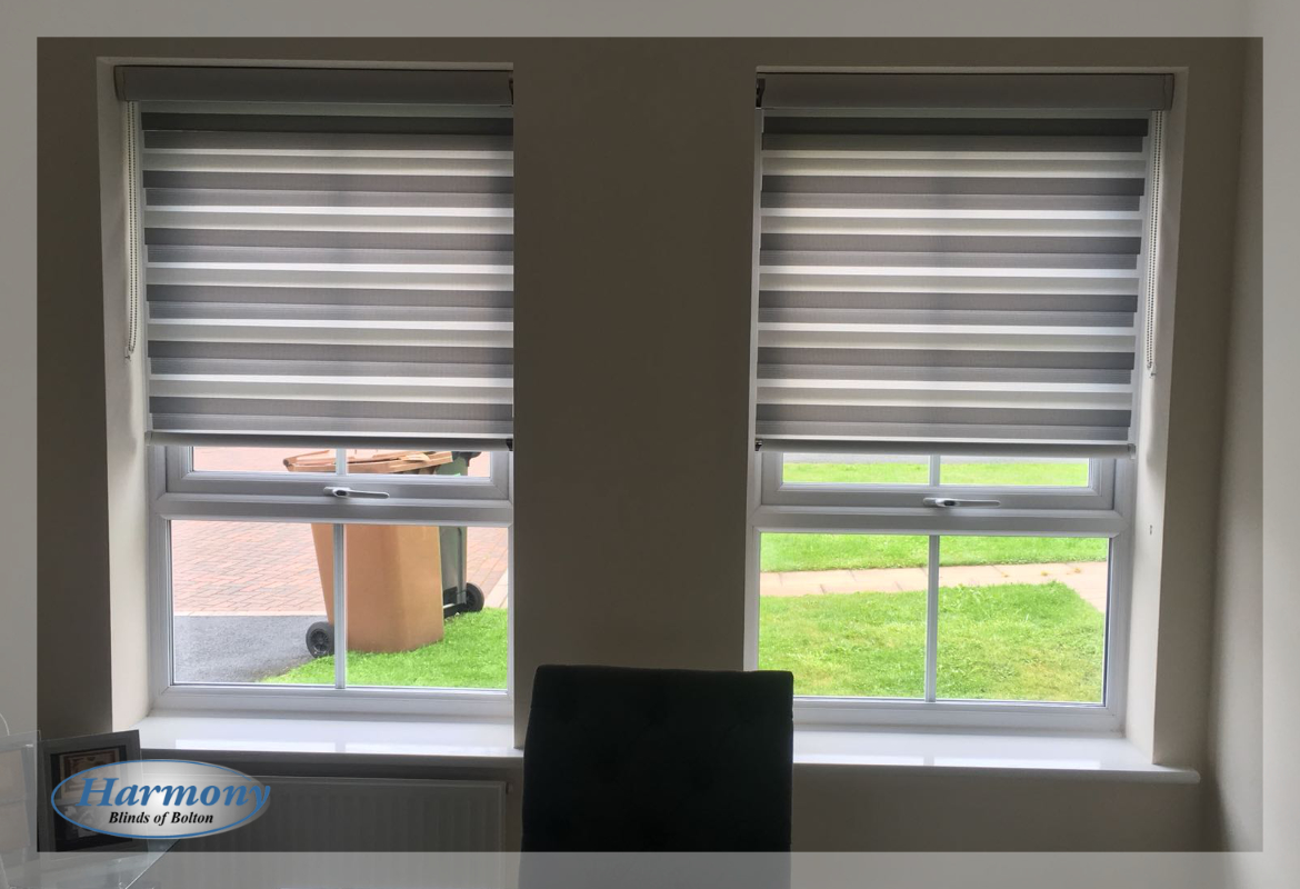 Duo of Day & Night Blinds in Bolton