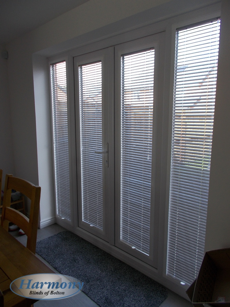 Perfect Fit Venetian Blinds In French Doors Harmony
