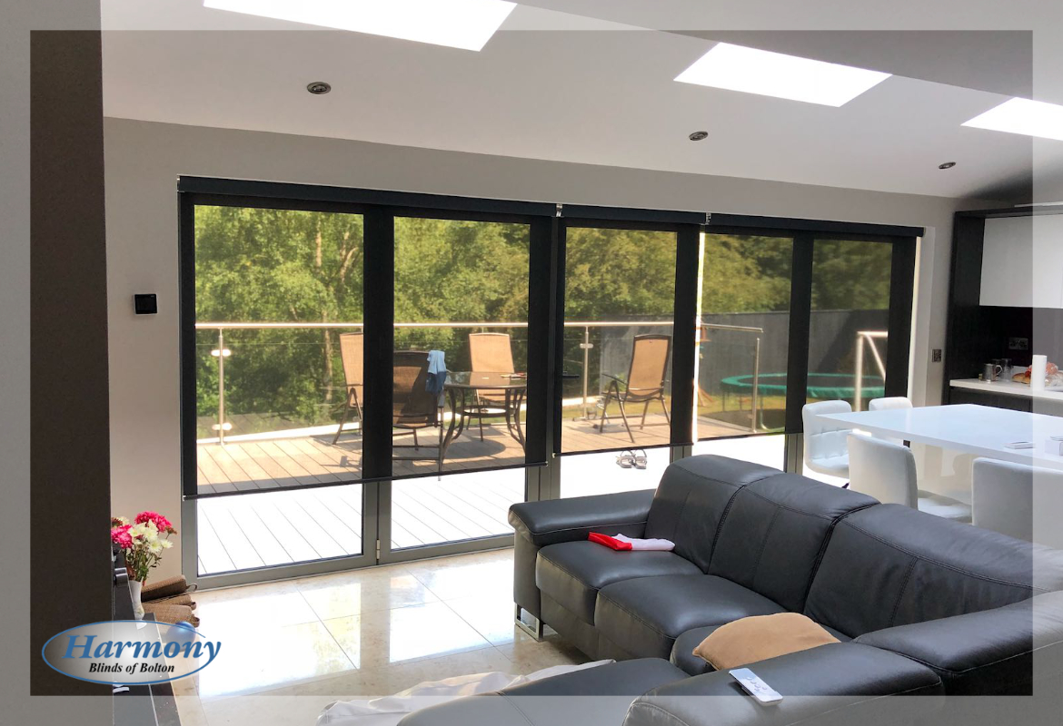 remote control blinds for bi-fold doors