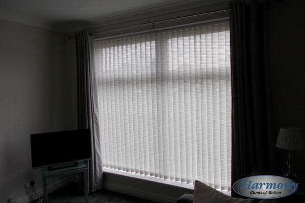 Beautiful Textured Vertical Blind