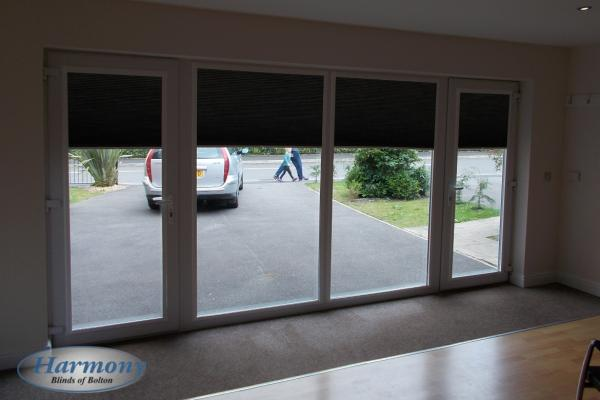 Blackout Perfect Fit Blinds on Patio Doors
