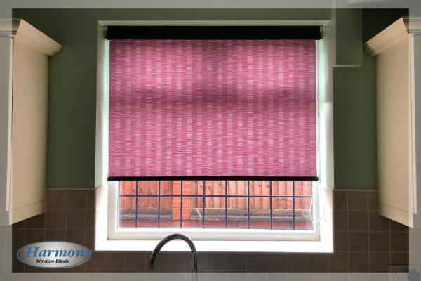 Colourful Senses Roller Blind with Black Finishes