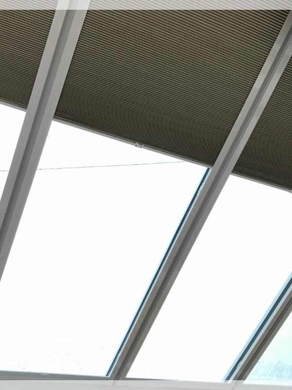 Perfect Fit Duette Conservatory Roof Blinds