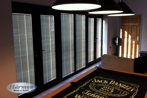 Perfect Fit Venetian Blinds look stunning on Doors
