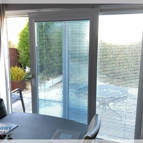 Perfect Fit Venetian Blinds on Sliding Patio Doors