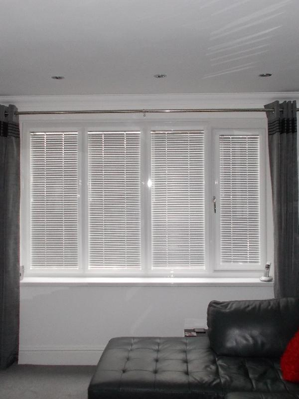 Perfect Fit Venetian Blinds to accompany existing Curtains