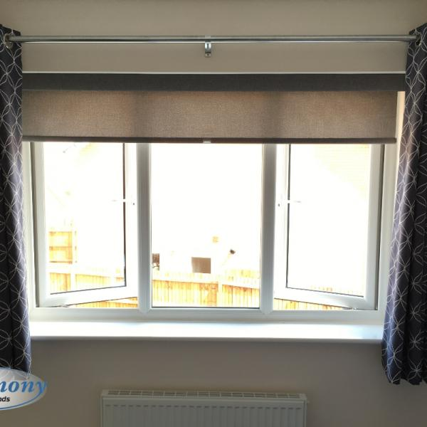 Senses Roller Blind and Curtains