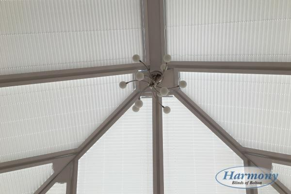 Shaped Perfect Fit Conservatory Roof Blinds