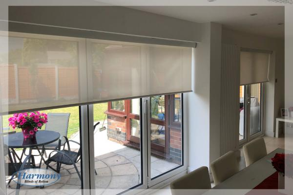 Sheer Senses Remote Control Roller Blinds