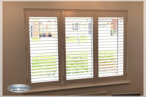 Three Panel Full Height Shutters