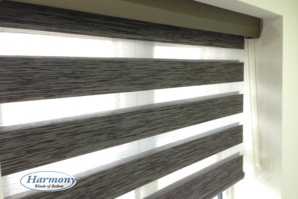 Wood Effect Day and Night Blind
