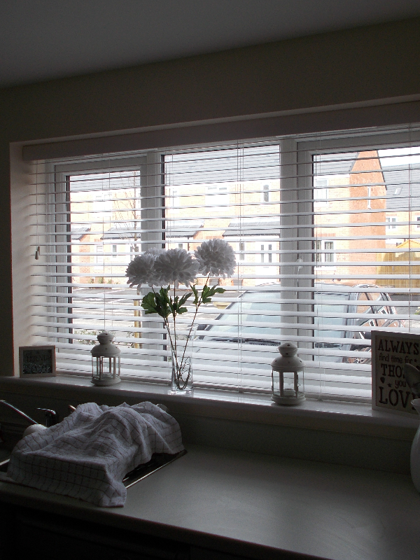 Wooden Blinds are perfect for Kitchens